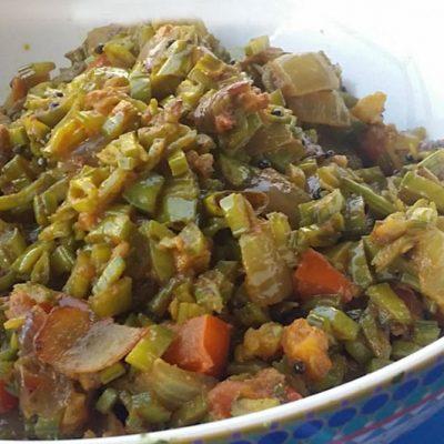 cluster-beans-sabji