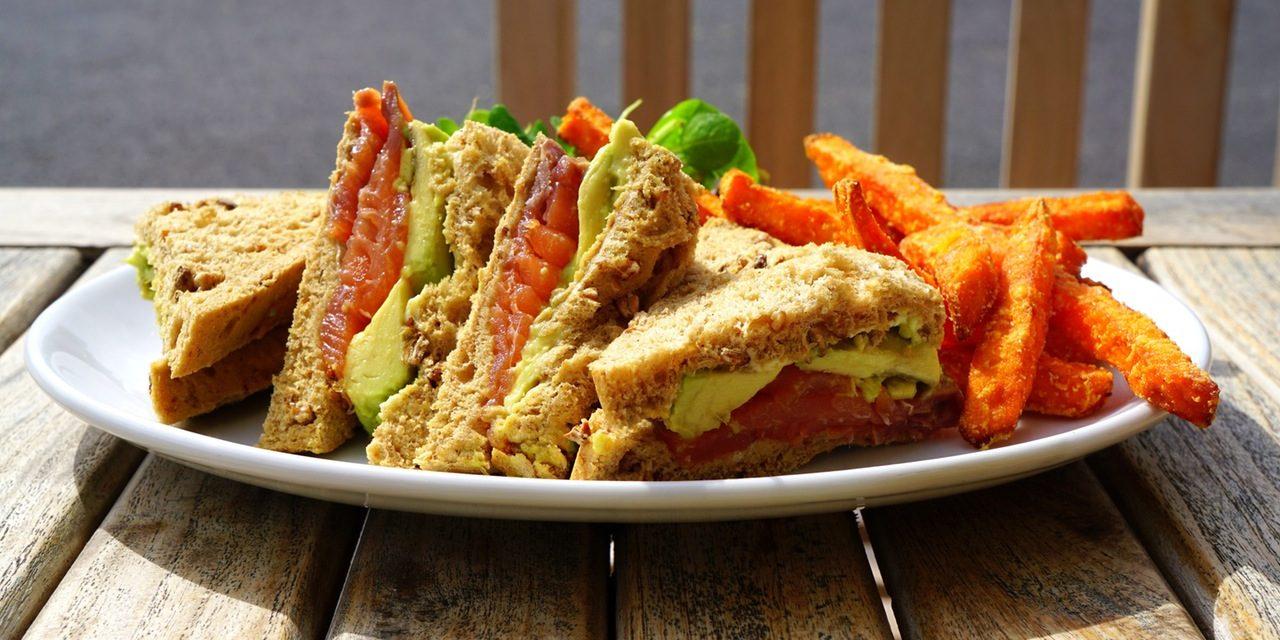 Recipe : Simple Vegetable Sandwich