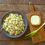 Tortellini Pasta Salad with Cucumber