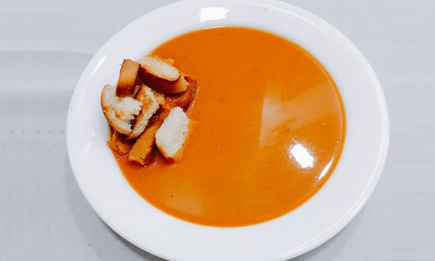 Recipe : Roasted Tomato Basil Soup