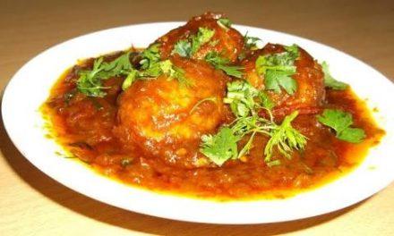Recipe : Egg Curry