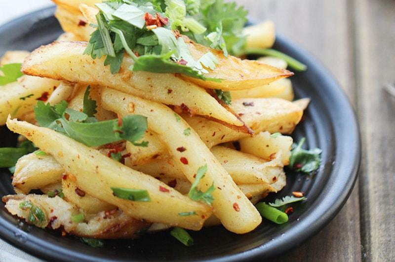 Potato Vegetable (Potato Chips Sabji)