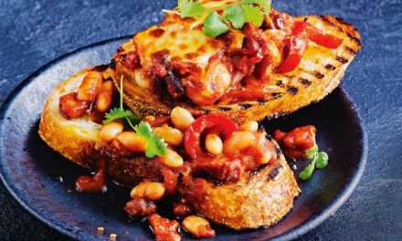 Recipe : Baked beans on toast
