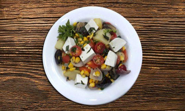 Recipe : Baked vegetable salad