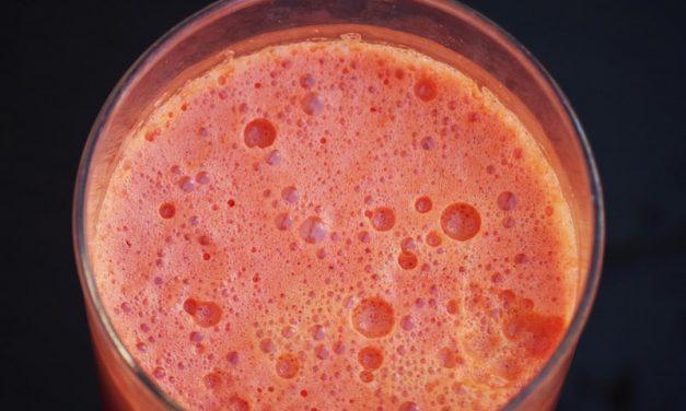 Recipe : Grapes and Pomegranates Smoothie