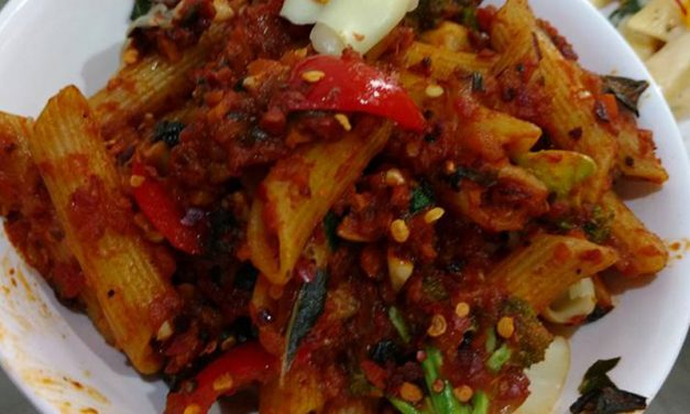 Recipe : Penne Pasta with Arrabiata sauce