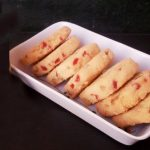 Eggless Whole Wheat Apricot Cookies