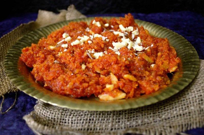 Homemade Navratna Halwa