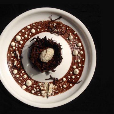 Choco coconut nest