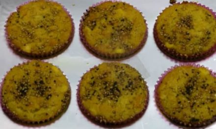 Recipe : Corn Carrot Muffins