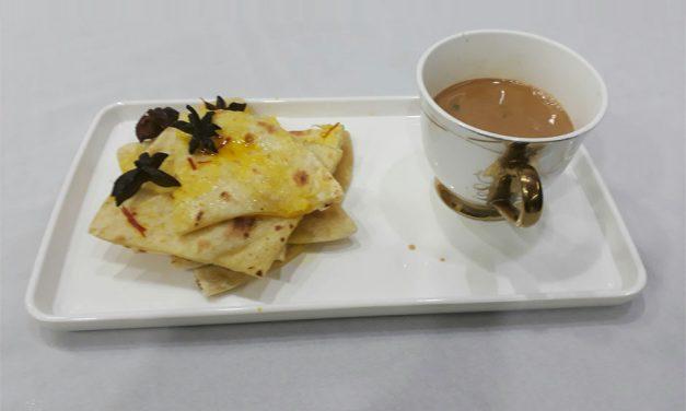 Recipe : Indian Inspired Flat Bread