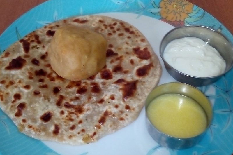 Gujarati Puran Poli (Vedmi)