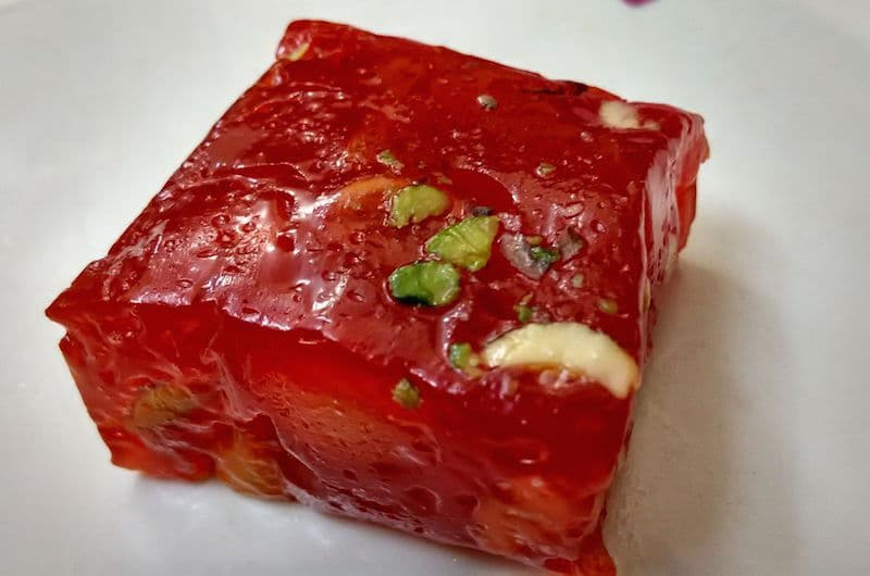 Indian Jelly Halwa (Bombay Halwa)