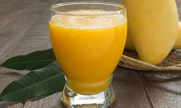 Recipe : Mango Peach Smoothie