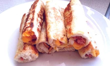 Recipe : Easy Sandwich Roll ups
