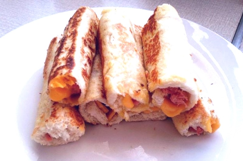 Recipe : Easy Sandwich Roll ups