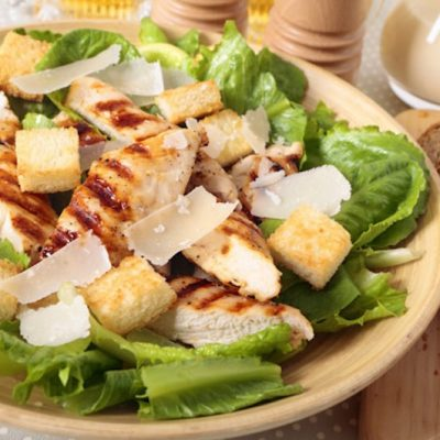 bread chicken salad