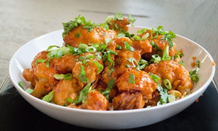 Recipe : Baked Buffalo Cauliflower