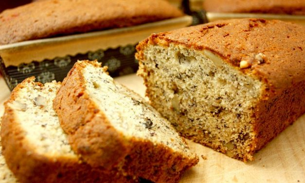 Recipe : Healthy Eggless Banana Bread