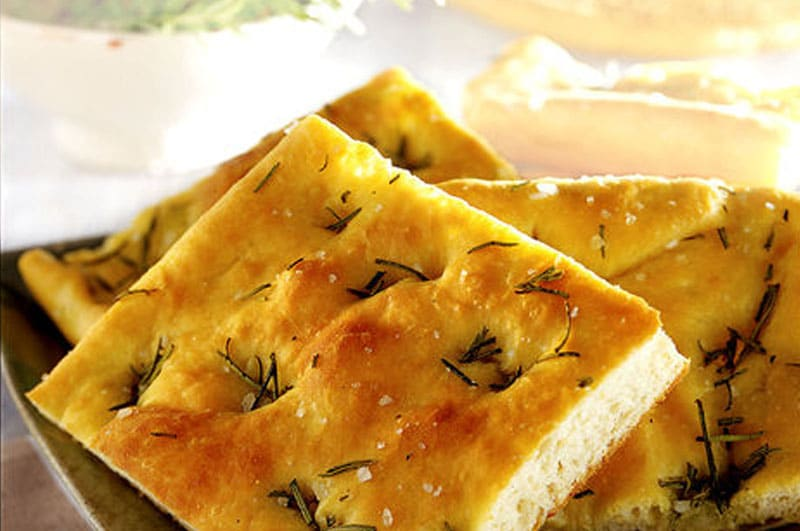 Recipe : Homemade Focaccia Bread with Garlic and Herbs