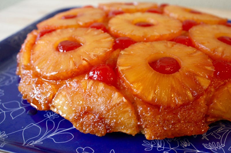 How To Make Pineapple Upside Down Cake Without Butter