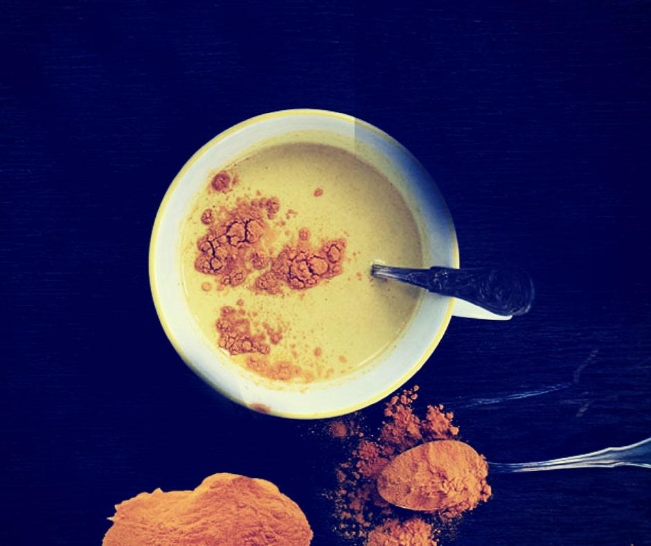 Turmeric milk (Golden milk)