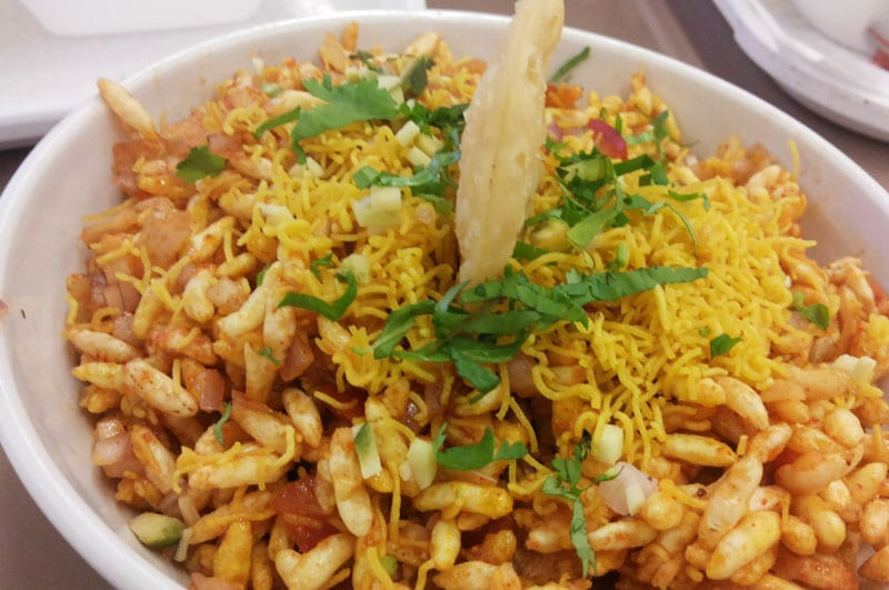 Jhaal muri (Spicy Puffed Rice)