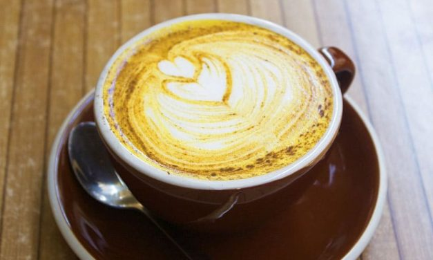 Recipe : 5 minutes Turmeric Latte