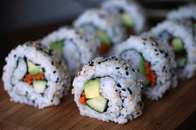 Recipe : Avocado Sushi