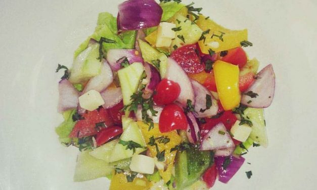 Recipe : Greek Salad