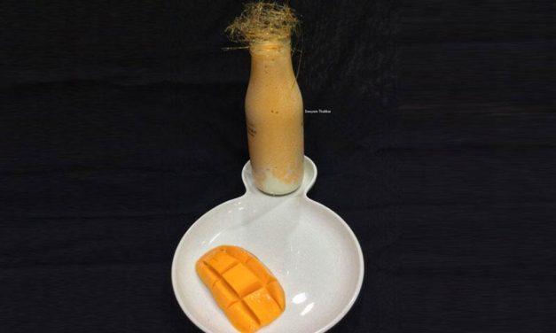 Recipe : Mango Frappe