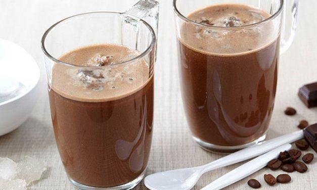 Recipe : Mocha Coconut Frappuccino