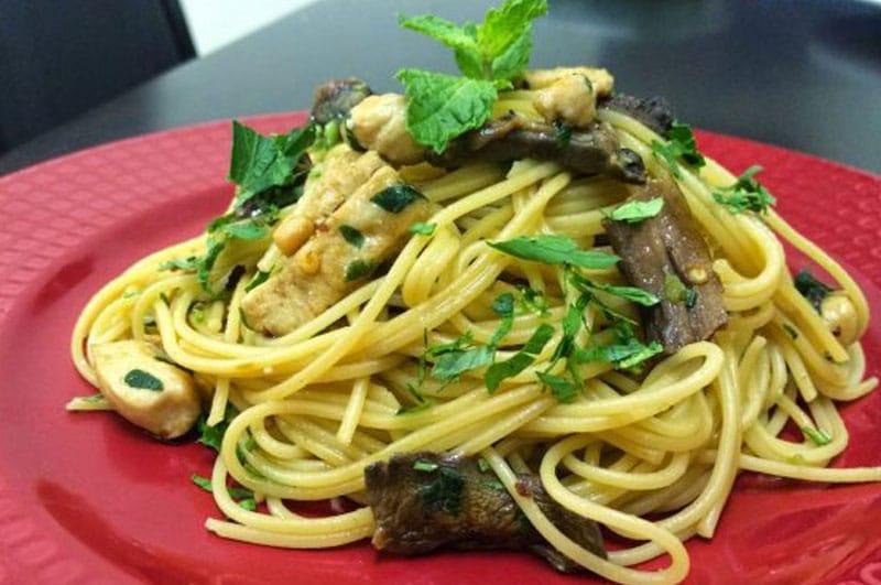Recipe : Spaghetti Aglio Olio