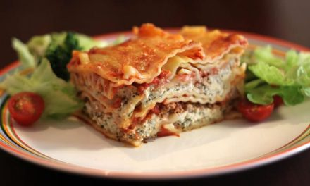 Recipe : Baked Vegetable Lasagna