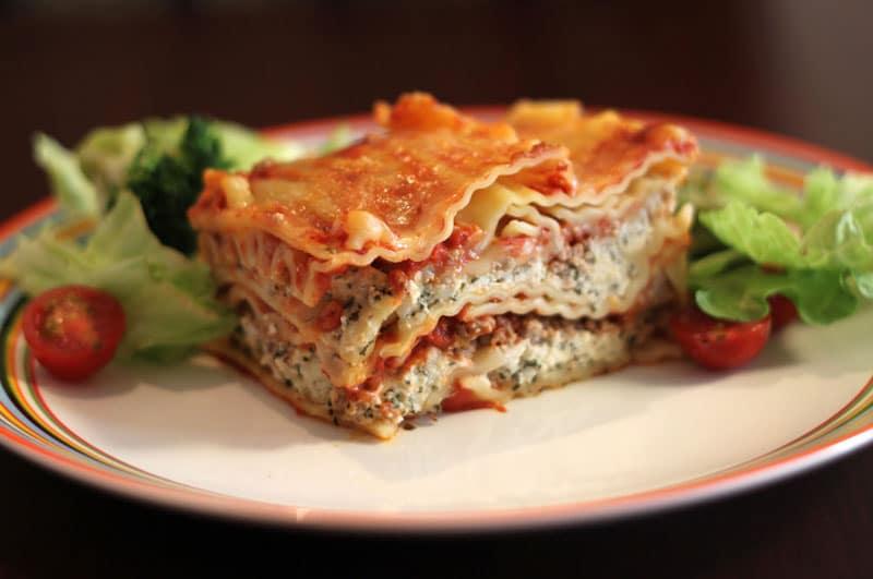 Recipe : Baked Vegetable Lasagna