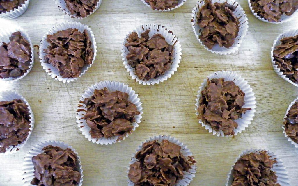 Recipe : Chocolate Cornflake Cakes