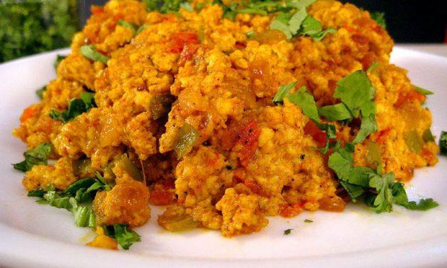 Recipe : Egg Bhurji ( Spicy Scrambled Eggs)