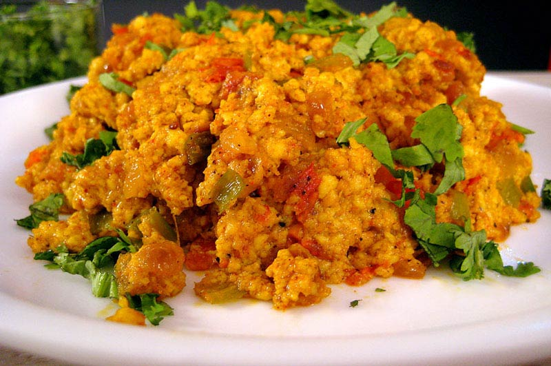 Recipe : Egg Bhurji ( Spicy Scrambled Eggs)