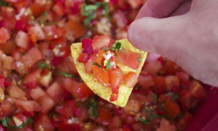 Recipe : Homemade Tomato Salsa