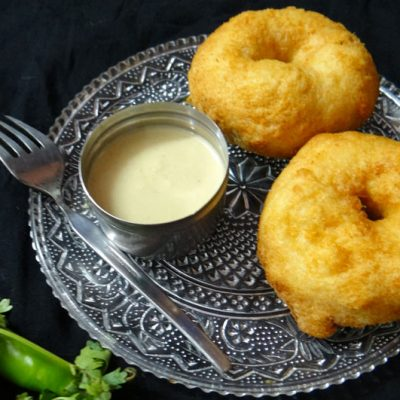 Medu Vada (Indian Doughnut)