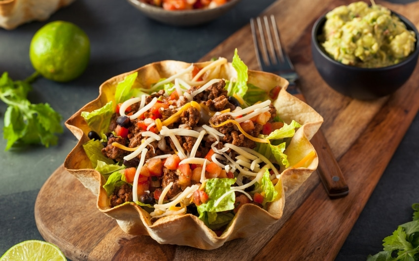 Recipe : Mexican Taco Salad