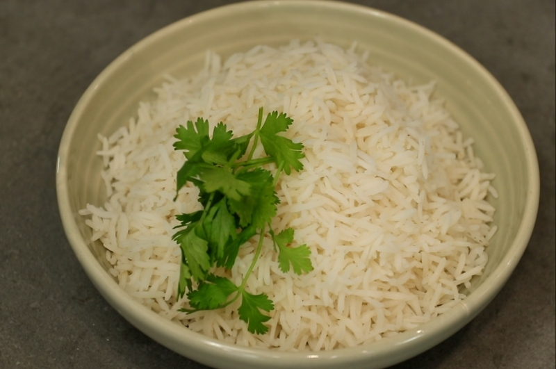Perfectly Cooked rice