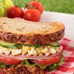 Quick non veg dish Egg Salad Sandwich