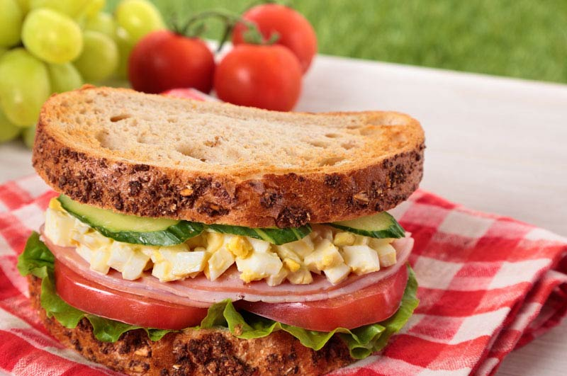 Quick Egg Salad Sandwich
