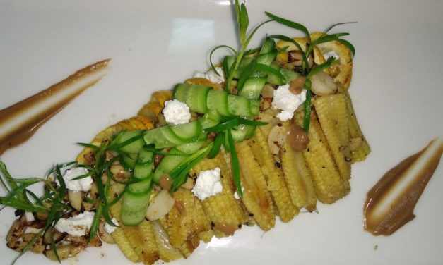 Recipe : Roasted Baby Corn and Zucchini Salad