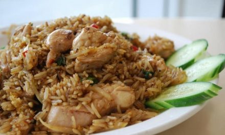 Recipe : Basil Fried Rice with Chicken