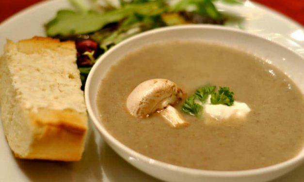 Recipe : Creamy Mushroom Soup