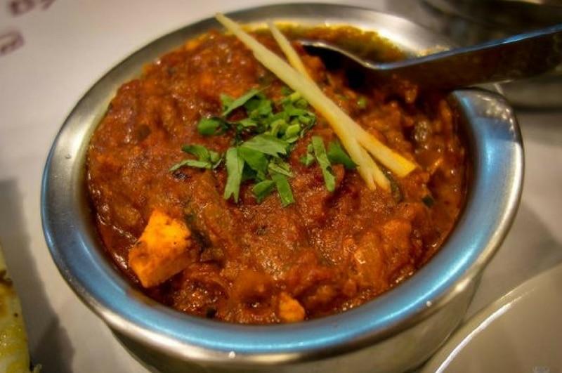 Spicy Kadai Chicken
