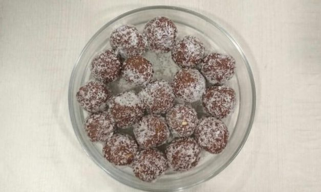 Recipe : Chocolate Ladoo