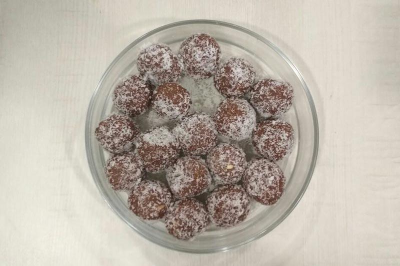 Recipe : Chocolate Ladoo